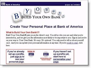 1999 screenshot from BofA CLICK TO ENLARGE