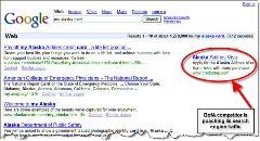 "Google results for ""my alaska card"""