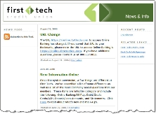 First Tech CU blog CLICK TO ENLARGE