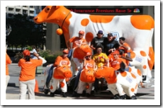 """ING Direct """"cash cow"""" promotion in Chicago"""