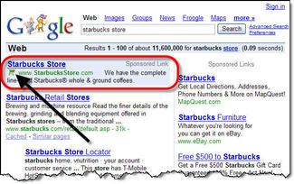 Google_checkout_starbucks_search