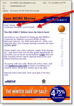 Ingdirect_personalized_email