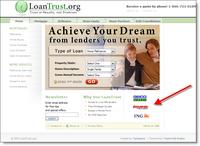 Loantrust_homepage